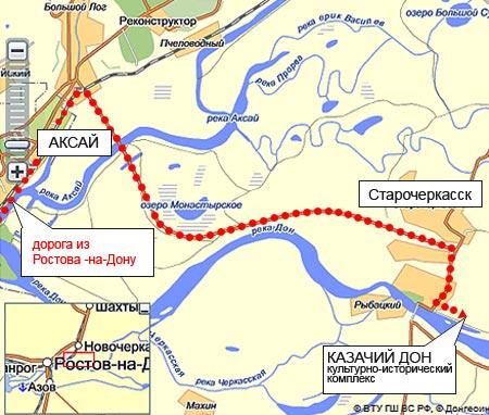 Схема проезда на Шермиции.