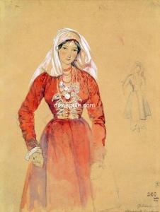 портрет Федюшкиной
