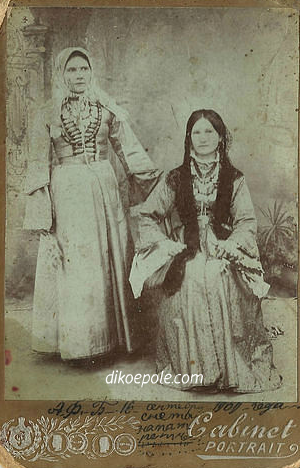 Рис. 19 Казачки станицы Червленой. 1909 год.